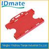 plastic name badge holder , hard plastic id holder