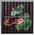 Pintura de bambú artesanía