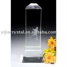Irregularity 3D Laser Crystal Trophy