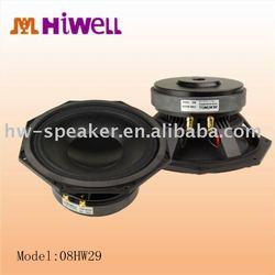 Octagonal frame design 8 inch professional line array speaker