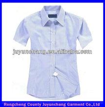 de manga curta faixa uniformes de escritório para senhoras