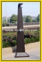wicker rattan outdoor pool shower SCGS-001
