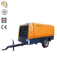 high cfm portable diesel air compressor for Crawler Drilling