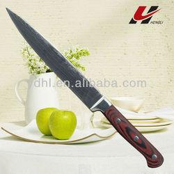 Excellent Quatity Damascus Slicer Knife SD11A-802