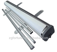 High Quality ABS side cover type roll up stand