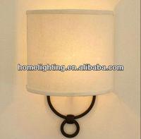 Simplicity Modern 1*Light White Fabric Width25cm*Height36cm Wall Light/Lamp