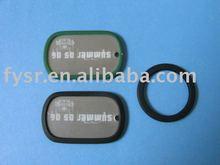 Popular silicone rubber dog collar for souvenir