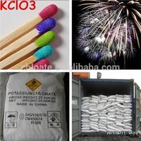 Fireworks material 99.5% min Potassium Chlorate (KClO3 )