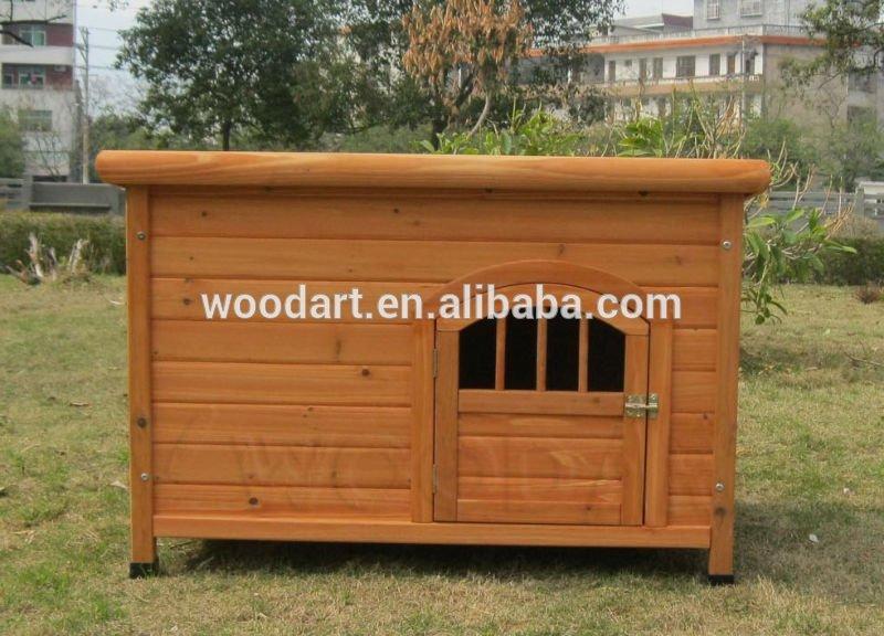 Wooden Dog Kennel With Door