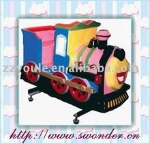 Electric mini train kiddie rides