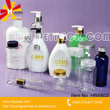 persoanl care bath or shampoo PET empty spray bottles