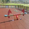 outdoor children playground rubber flooring