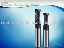 Tungsten carbide corner radius end mills