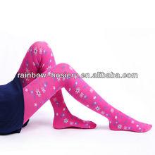 Pink Floret children tights Pantyhose