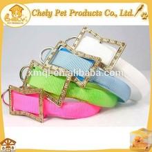 Colorful Super Simple Nylon LED Dog Collar Leash Wholesale Pet Collars & Leashes