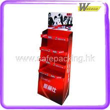Beautiful ladder cardboard display standee hair product