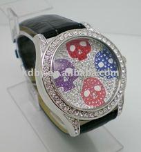 Italian brand hip hop crystal dial skeleton watch winner