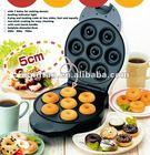 HOT SALE portable 7 holes donuts maker, mini cake maker