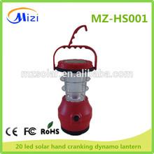 SOLAR DYNAMO HAND CRANK LED LANTERN led solar lantern solar hand crank dynamo lantern
