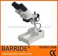 ( bm- 2b) 2014 nuevo diseño binocular microscopio de luz, estéreo microscopio de inspección