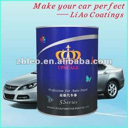 Car Refinish Blue Pearl Paint