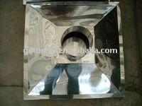 OEM custom 304 stainless steel metal sheet fabrication work