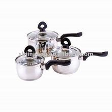 6pcs stainless steel kitchen ware set