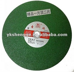 Flexible Green Stone Cutting Marble Polishing Wheel