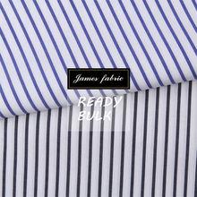 100% Cotton Yarn Dyed Stripe Shirting Fabric