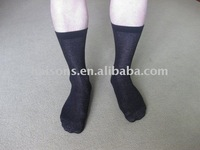 Long ankle cotton diabetic socks