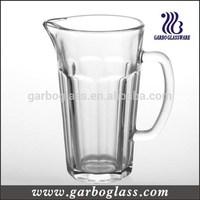 40oz rock design tall glass beer jug/beer glass jug/beer jug