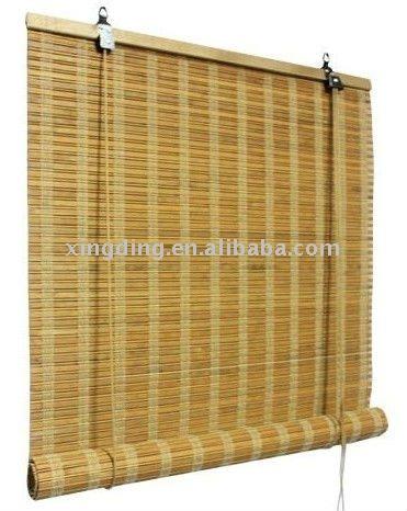 cortinas de bambú en