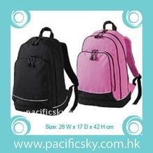 New Design durable 2 Tone Color 300D polyester Waterproof Backpack