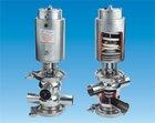 Sanitary mixproof valve