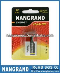 super alkaline 6LR61 9 volts dry battery