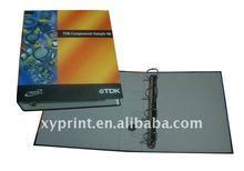 paper file folder and ring binder