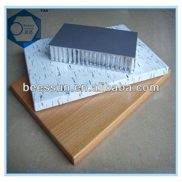 aluminium waben verbundplatte für bodenbeläge