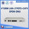Triple play GEPON FTTH ONU,ONU