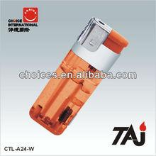 TAJ Brand ISO9994 LED Electronic Lighter Jumbo Lighter