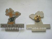 custom band logo metal pin badge