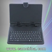 Tablet android case and keyboard ,PU Leather + ABS Keyboard