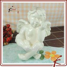 home decor sitting angel ceramic BOD031-7.5