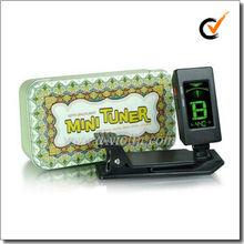 Clip Style Mini Chromatic/Guitar/Bass/Violin/Ukulele Metronome Tuner (WST-A05)