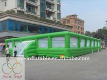 Customized inflatable soccer arena