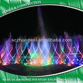 Multicolor fuente de agua