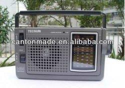 Retail-Wholesale Tecsun R-304 FM MW SW 4 Bands Portable Radio r304 (For Elderly) Paypal DHL