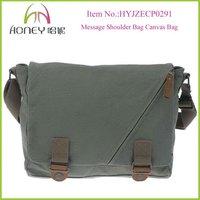 Classical Durable Retro Men Canvas Crossbody Bag Messenger Bag Shoulder Bag
