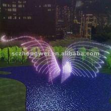 One dimensional dancing fountain