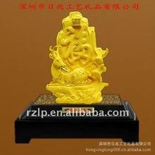 2013 advanced 24K gold art gift handiwork-wholesale hot sales -art and craft blessing statue