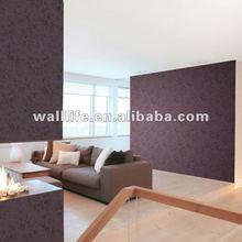 eco-friendly non-woven classic design flower wallpaper